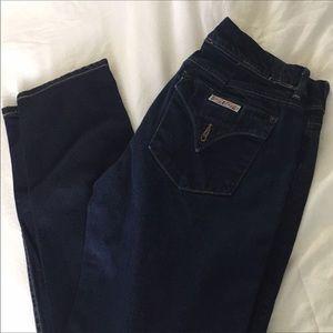 Hudson Dark straight/ skinny jeans